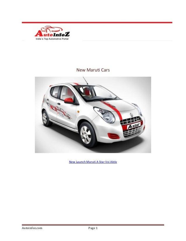New maruti cars -10Dec2012