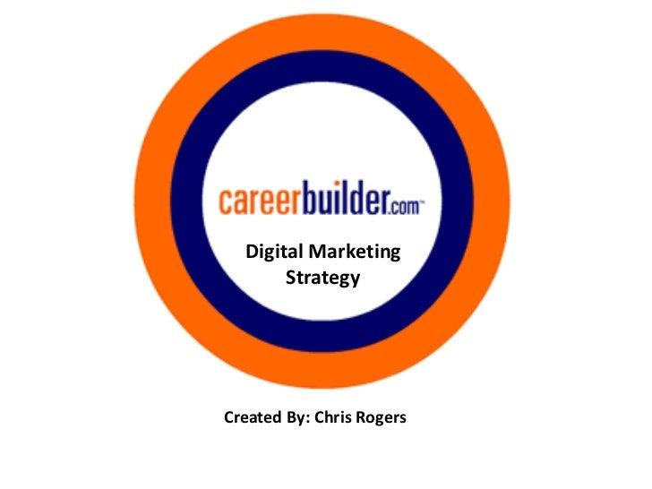 Digital Marketing       StrategyCreated By: Chris Rogers
