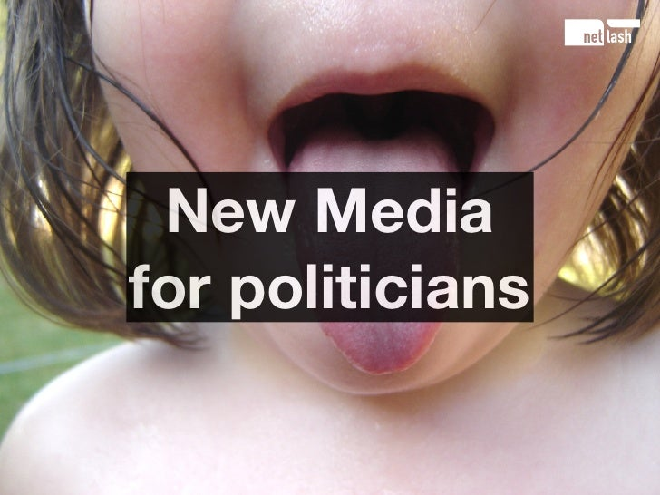 New Media for politicians