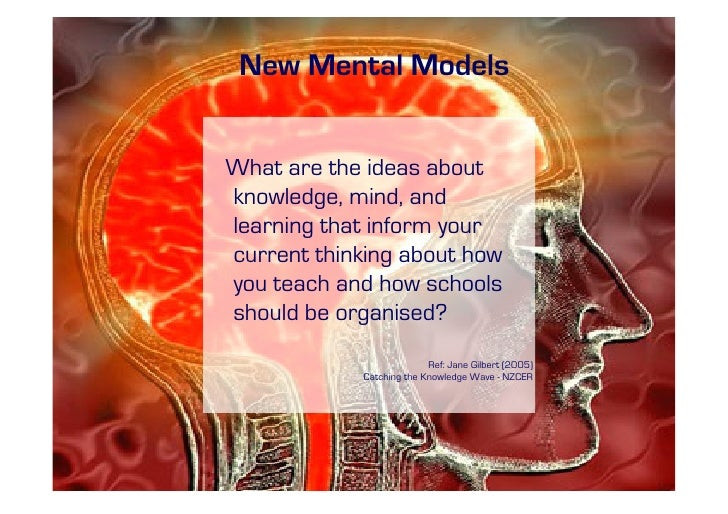 New Mental Models   What are the ideas about knowledge, mind, and learning that inform your current thinking about how you...