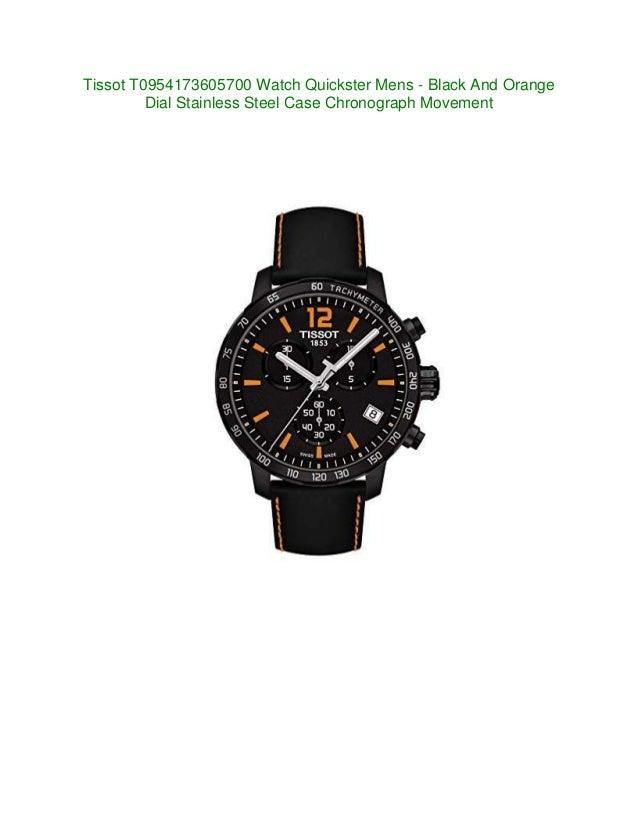 new watches tissot t0954173605700 quickster mens