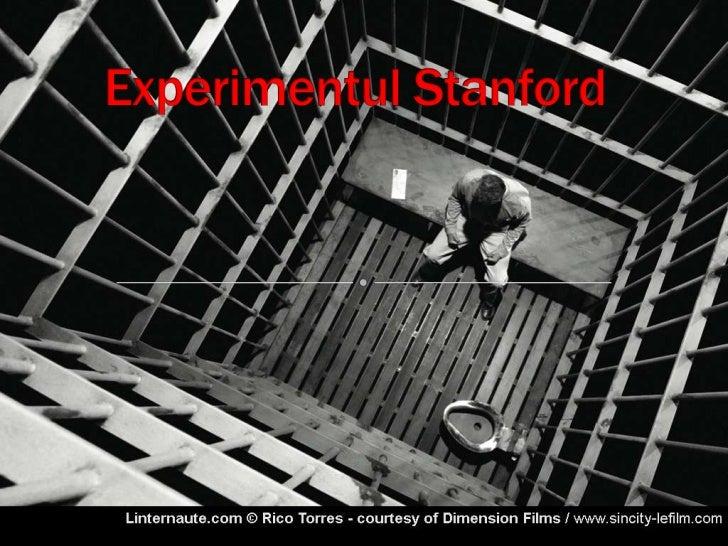 ....:::Experimentul Stanford:::... Raluca Manea