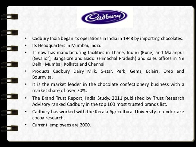 market research proposal cadbury Request for proposal to conduct a marketing research study on potential visitors from china rfp no hta.
