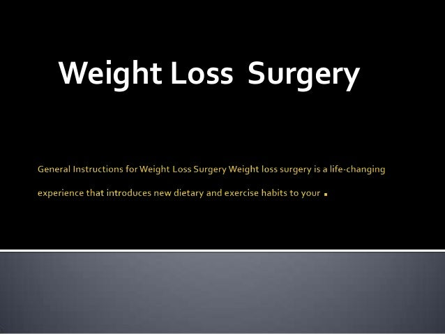 Weight Loss Surgery Los Angeles Make You Fit & Sexy.
