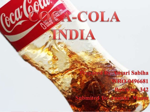 Coca-Cola Project with all products details