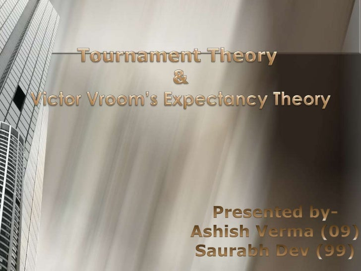 Tournament Theory1. Tournaments are competitions   between peers to achieve a   promotion to a higher rank along with   th...