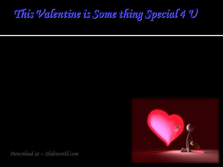 Valentines DayPPT(Powerpoint) Presentation | Powerpoint Presentation on Love | PPT Slides for Valentines Day