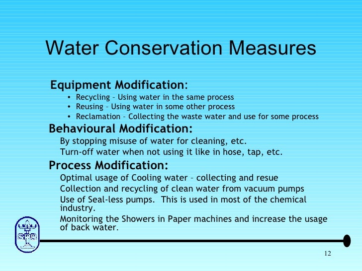 Water Conservation Research Paper