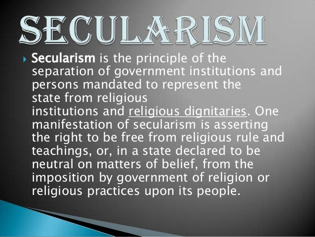 secularism and india essay