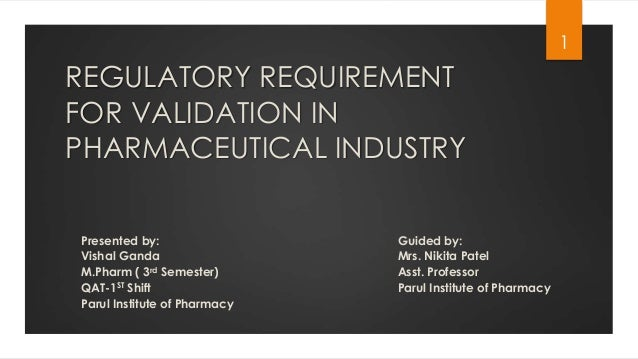 m.pharm thesis on process validation Come browse our large digital warehouse of free sample essays process validation is a vital aspect not just for regulatory purposes, but also for the.