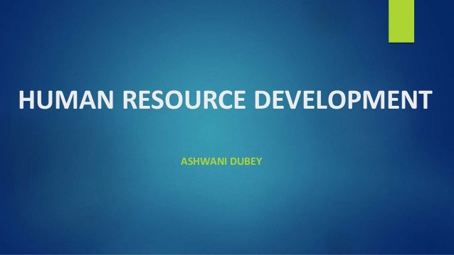 human resource development dissertation