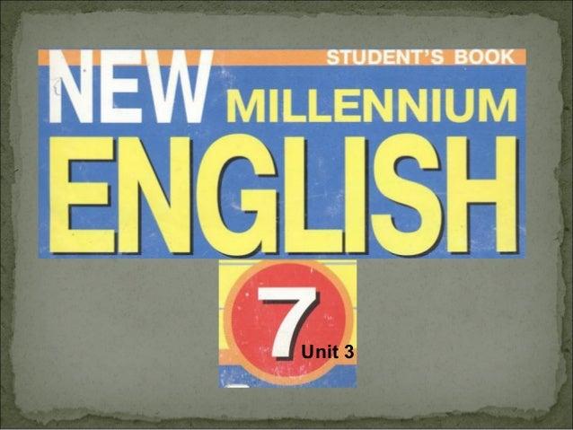 New millenium english