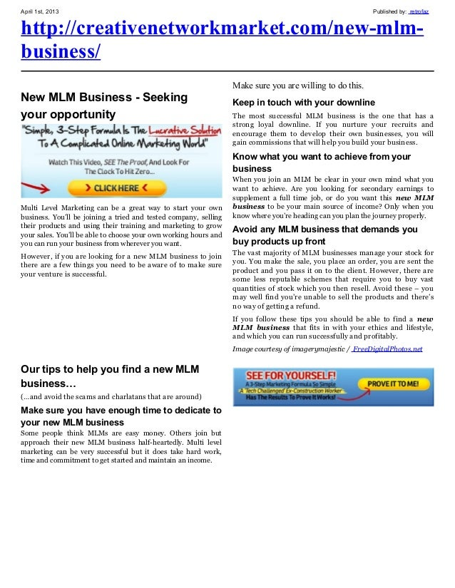 New mlm business_new