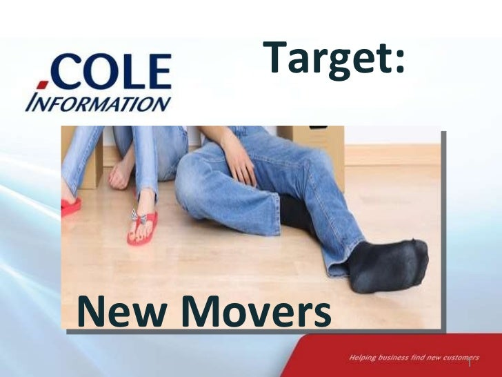 Target: New Movers