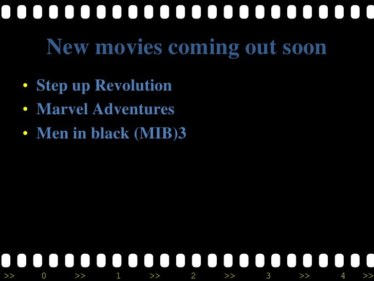 New Movies Ing Out Soon