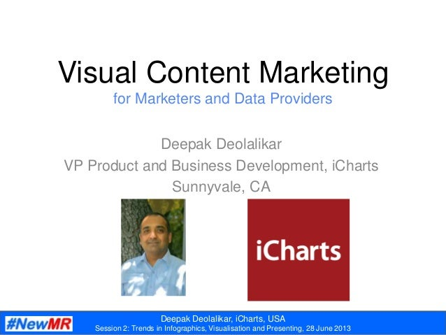Visual and Social Content Marketing with iCharts and Data Graphic