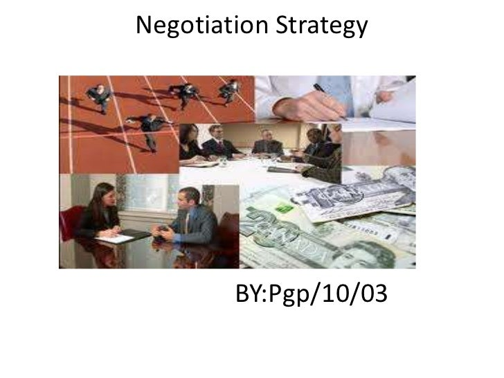 New negotiation pgp 1003