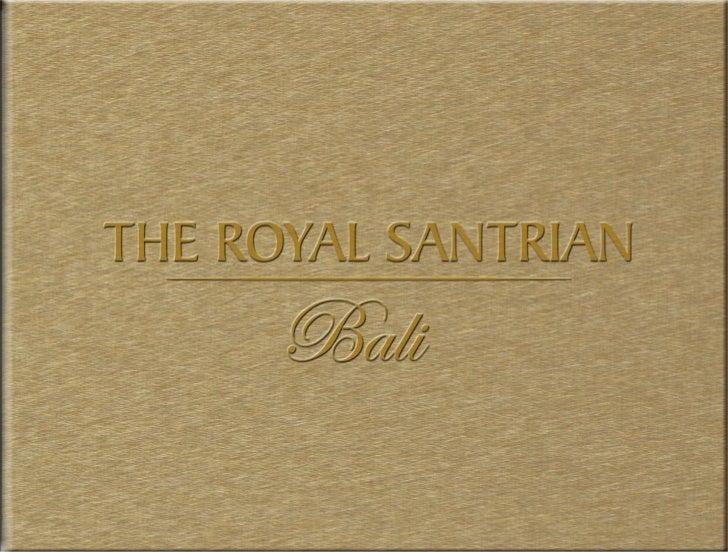 The Royal Santrian - Big Brochure