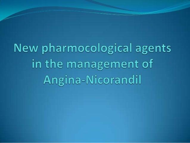Angina Pectoris  Myocardial ischaemia-coronary blood flow inadequate to meet myocardial oxygen demand.  Angina-most comm...