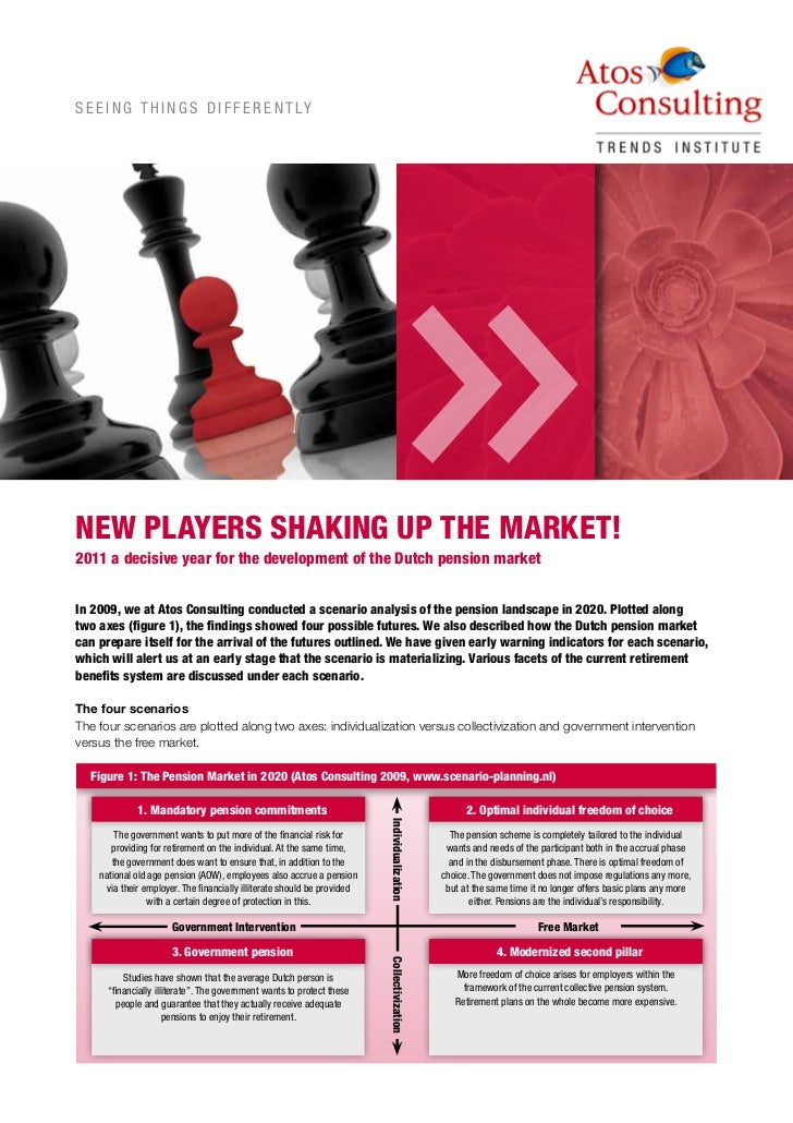 New Players Shake The Dutch Pension Market   Update Scenario Analysis Pensions Market In 2020