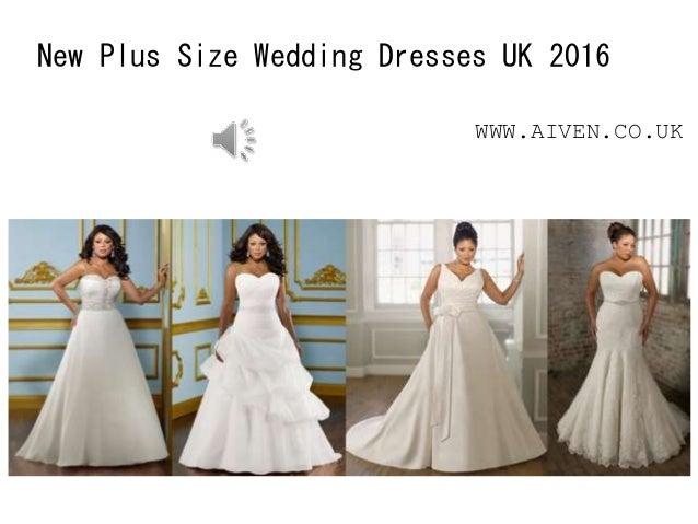 New Plus Size Wedding Dresses UK 2016 WWW.AIVEN.CO.UK