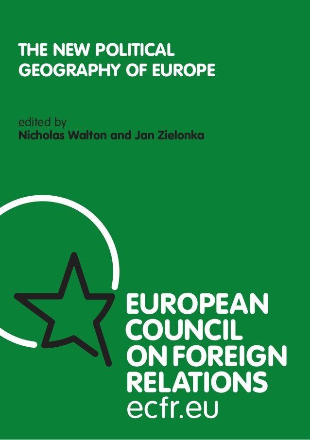 edited byNicholas Walton and Jan ZielonkaTHE NEW POLITICALGEOGRAPHY OF EUROPE