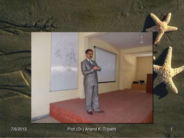 Computer Structure                                        Prof.(Dr.) Anand K. Tripathi