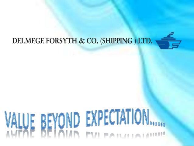 Delmege Forsyth & Co. (Shipping) Ltd.