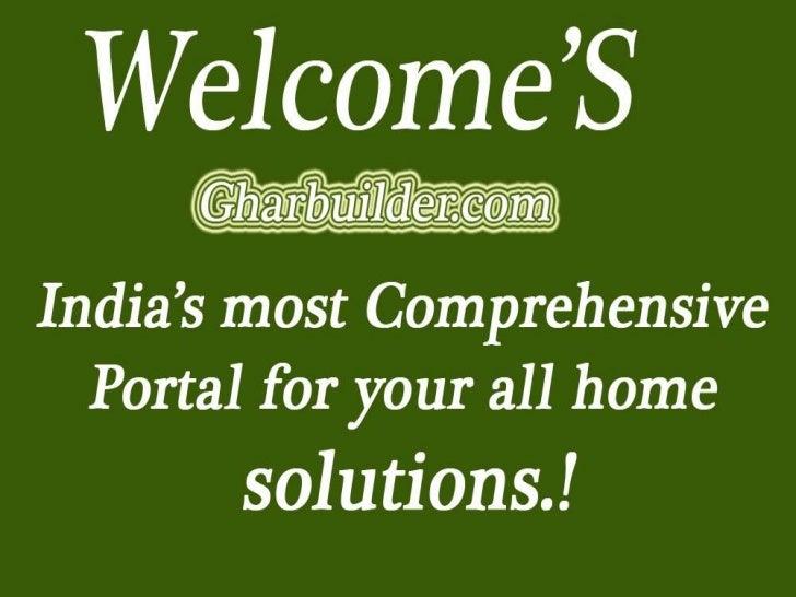 Browse Ghar Builder•••••       www.Gharbuilder.com