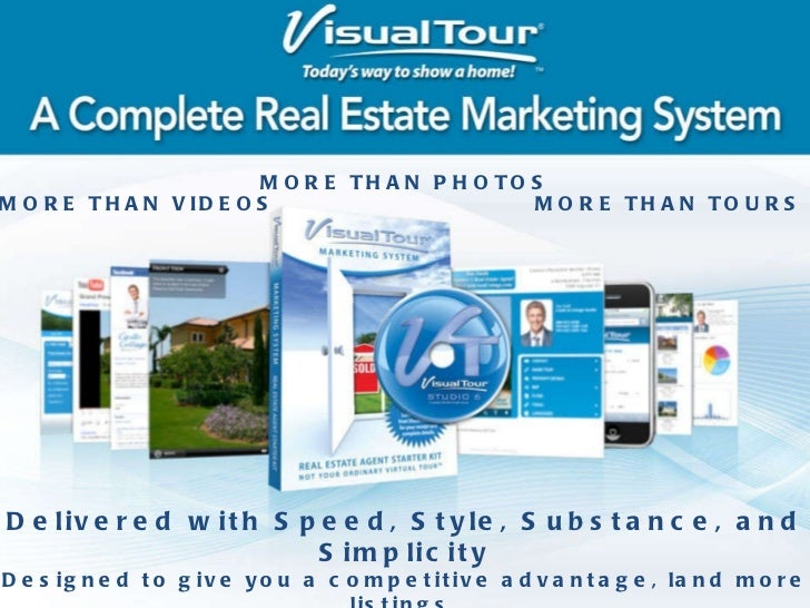 Delivered with Speed, Style, Substance, and Simplicity Designed to give you a competitive advantage, land more listings, g...