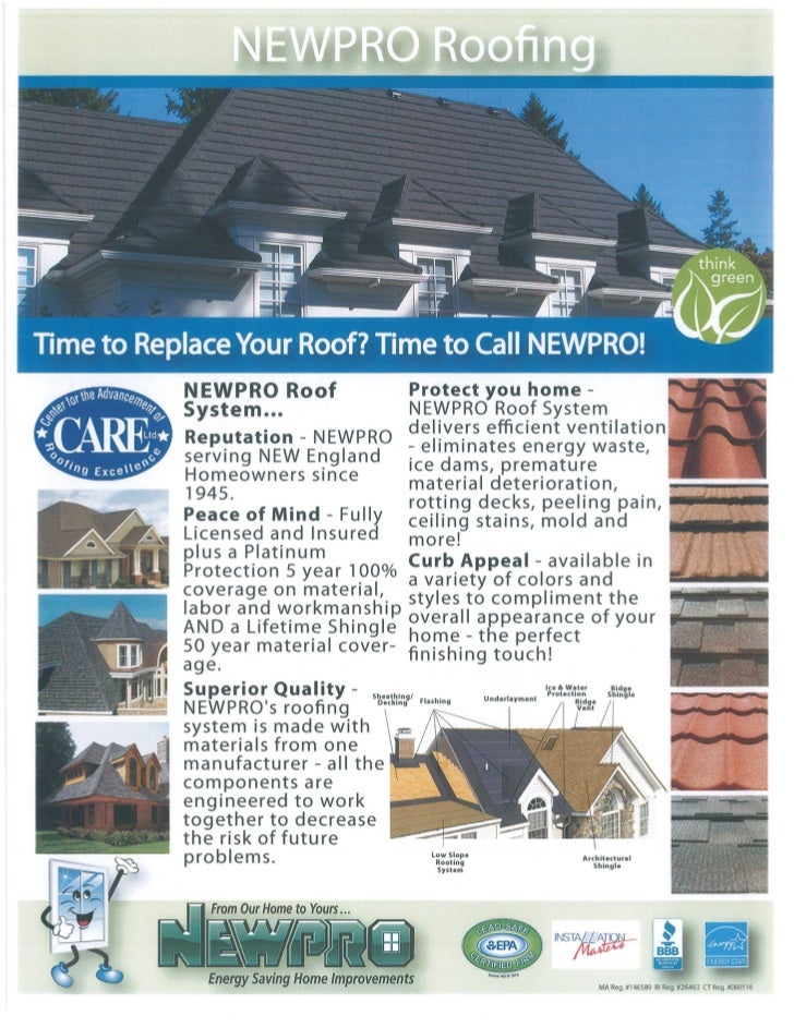 Newpro Roofing System