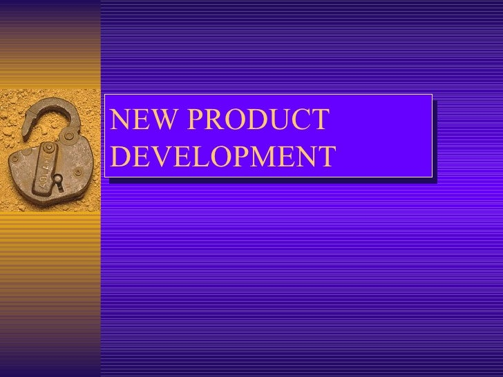 New product develop