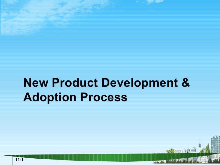 New Product Development &   Adoption Process11-1