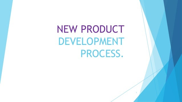 New product development process for New product design