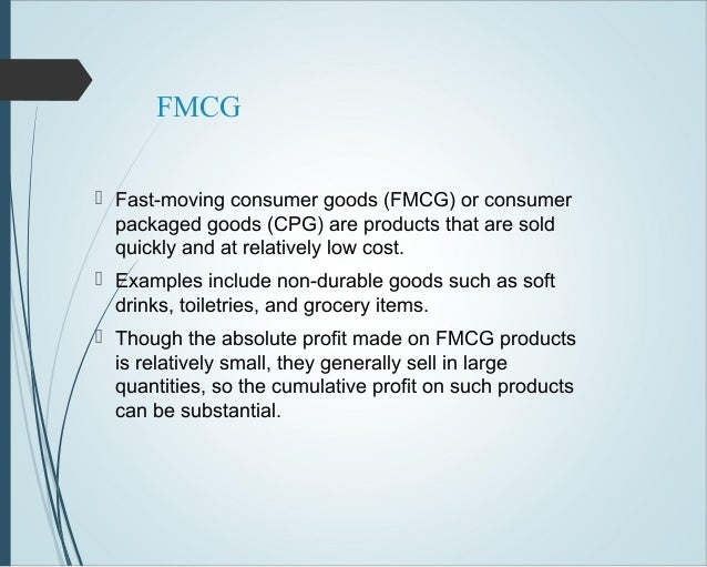 product strategy of fmcg product Fmcg sales and marketing management the fast moving consumer goods in the fmcg industry the primary strategy must be to win at the first opportunity there are few second chances for an under-performing product line to realize this strategy.