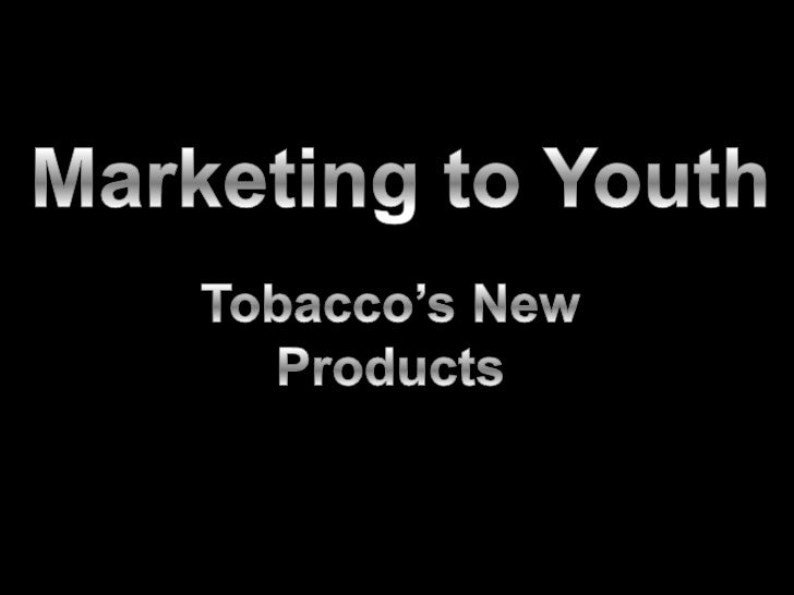 Tobacco's New Products<br />Peers Advocating Smoke-free Solutions <br />University of Missouri<br />
