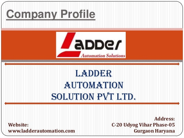 Company Profile: Ladder Automation Solution Pvt Ltd