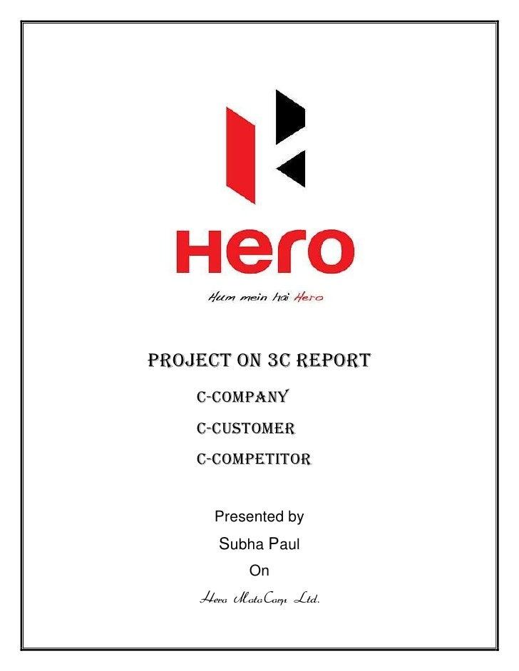 New project 3c hero