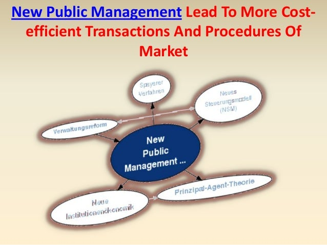 new public management Theories of governance and new public management: links to understanding welfare policy implementation jo ann g ewalt department of government.