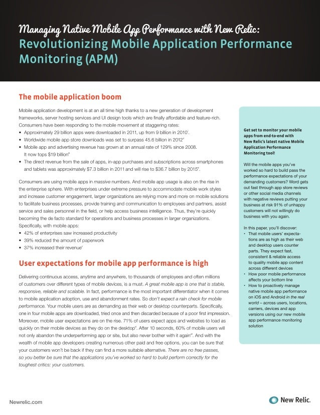 New Relic WhitePaper Monitoring Mobile Apps
