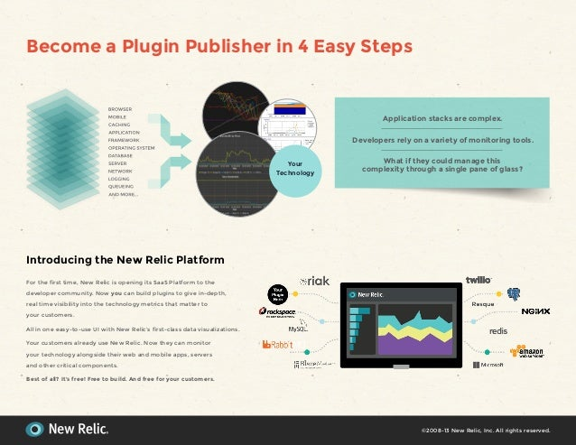 Become a Plugin Publisher in 4 Easy StepsIntroducing the New Relic PlatformFor the first time, New Relic is opening its Sa...