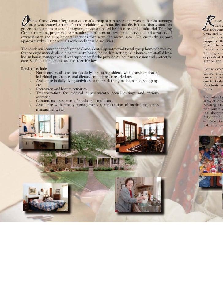 Residential Habilitation Brochure