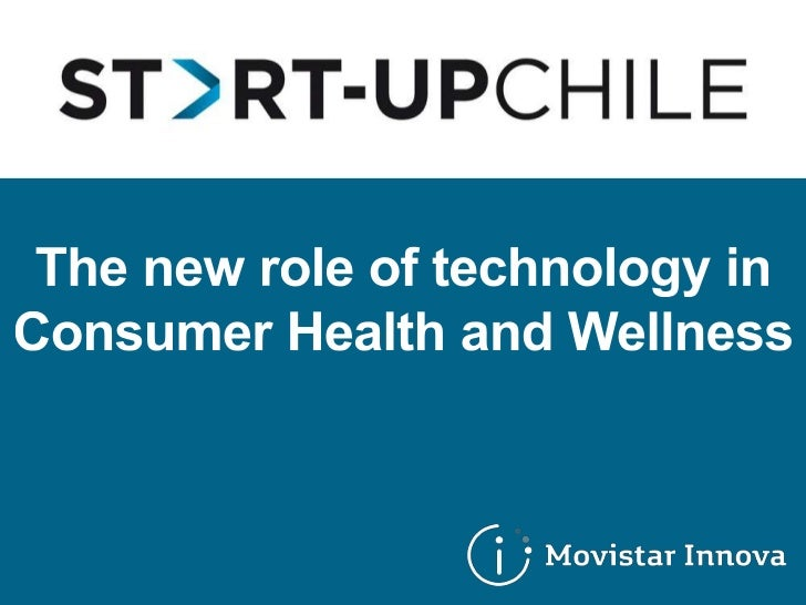 The New Role of Technology in Consumer Health and Wellness