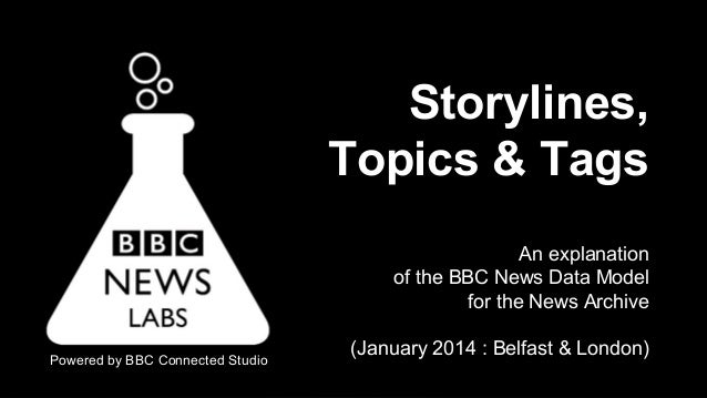 News Archive - BBC News Labs presentation on Storylines, Topics & Tags