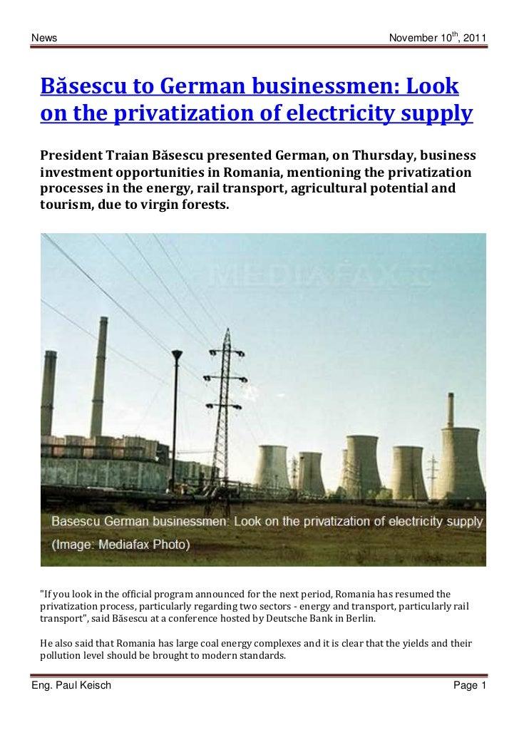 News 20111110 privatization