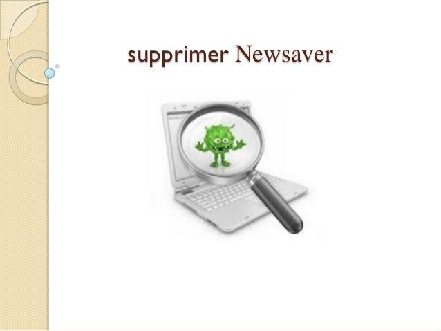 supprimer Newsaver