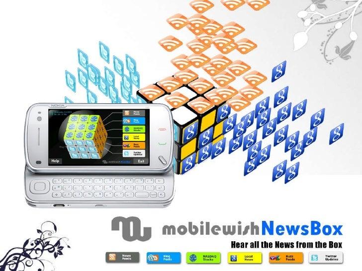 MobileWish News Box