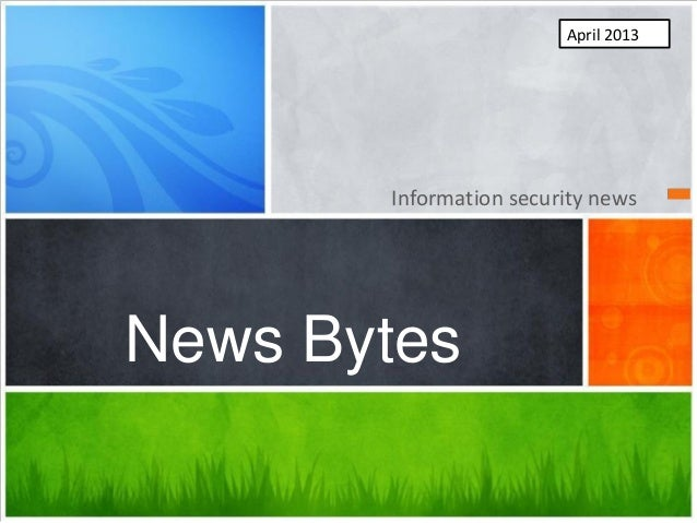 Newsbytes april2013