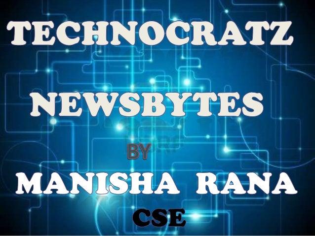 Newsbytes by manisha