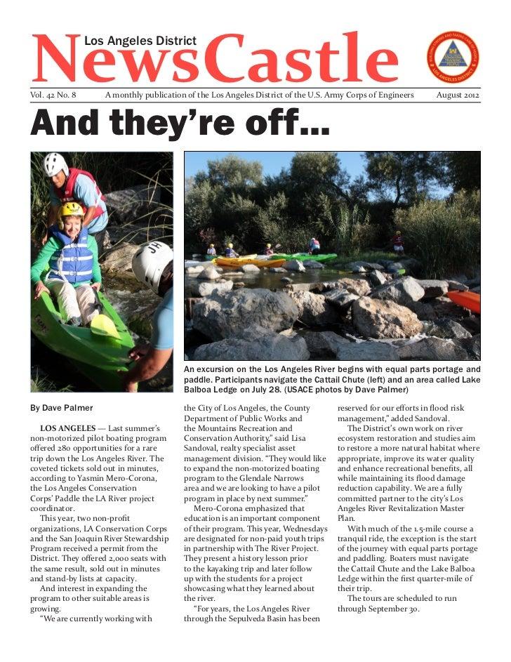 NewsCastle                Los Angeles DistrictVol. 42 No. 8        A monthly publication of the Los Angeles District of th...